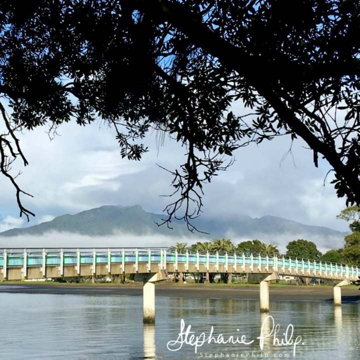 Raglan Footbridge. Raglan NZ. Photo taken by Stephanie Philp