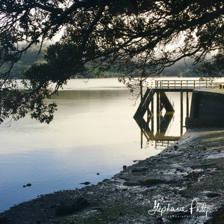 Raglan Harbour. Raglan NZ. Photo taken by Stephanie Philp