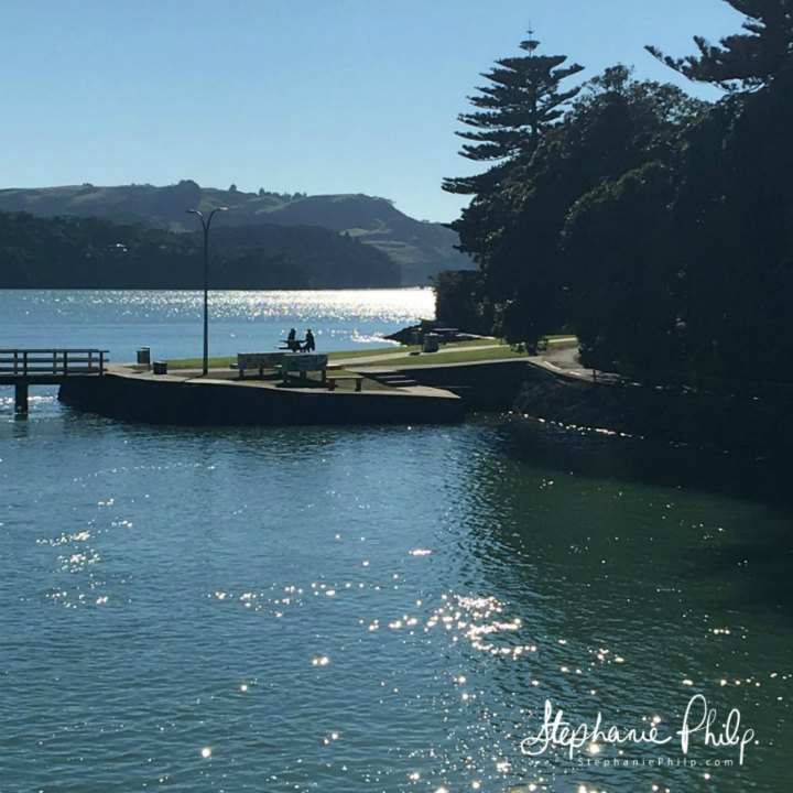 Raglan Jetty. Raglan NZ. Photo taken by Stephanie Philp