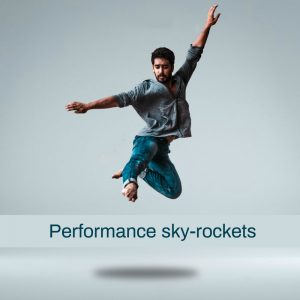 performance sky rockets in flow