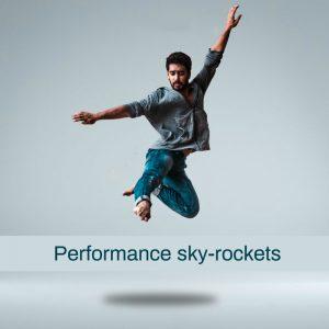 performance sky rockets in flow
